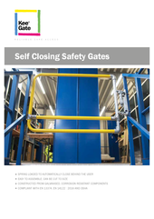 Kee Gate Self Closing Safety Gate thumbnail