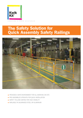 Kwik Kit Safety Railing Kits thumbnail